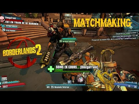 What is matchmaking in borderlands 2