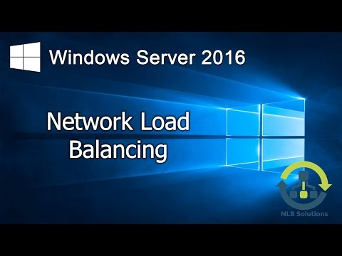 09. Implementing Network Load Balancing in Windows Server 2016 (Step by Step guide)