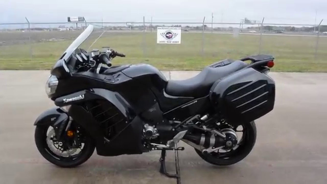 2014 Kawasaki Concours 14 ABS Overview and Review - YouTube