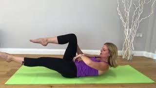 #29 Studio Scoop Pilates   Improver level   Activating the deep abdominals