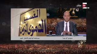 شاهد.. عمرو الليثي يتبرع بـ250 ألف جنيه لصالح مستشفى أبو الريش