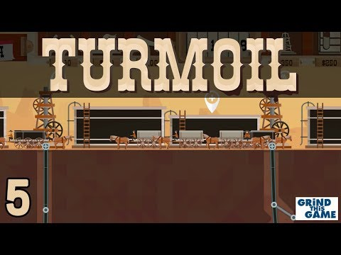 TURMOIL #5 - Oil Drilling Game - FASTER DOWSERS - Desert Biome