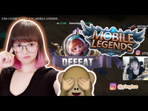 CAN I CLIMB TO EPIC 4 ?!!   MOBILE LEGENDS