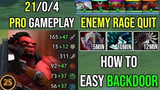 How to Make Enemy Rage Quit 19 Min GG - Crazy Backdoor Axe Cancer WTF Gameplay 2xUltrakill Dota 2