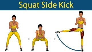 Perfect Legs Series: Squat side kick