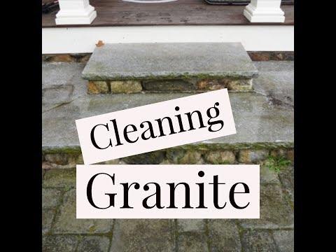 How to Clean Granite Steps
