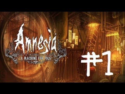 Amnesia A Machine For Pigs   Let's Play en Español   Capitulo 1