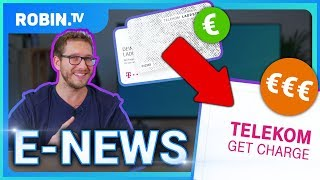 E-News: Telekom erhöht Ladepreise, Verdoppelung E-Auto-Förderung, Tesla Pickup & Klimakabinett