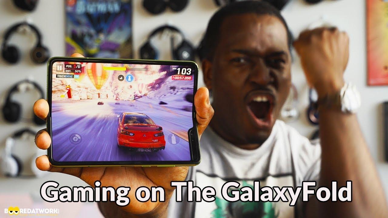 Galaxy Fold Gaming: PubG Mobile, Asphalt 9!!!