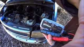 Jump Starting with NOCO Genius® Boost™ GB30 - Cold Start, Dead Battery