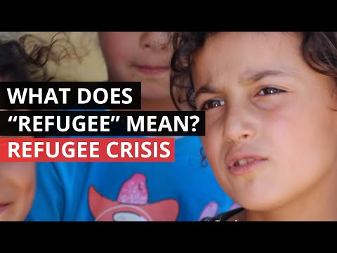 WORLD REFUGEE DAY | What does the word 'refugee' mean to you?