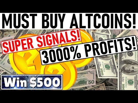 3000% PROFIT ALTCOIN PICKS! APPLE TO BUY $5bil BITCOIN! BUYING MORE BTC THAN MINED! $55k BITCOIN!