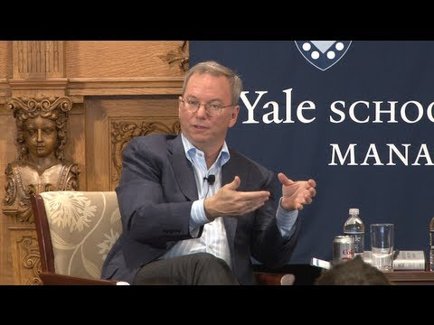 Eric Schmidt On The Globalization Of Technology