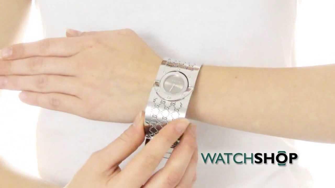 ded4705dd0c Gucci Ladies  Twirl Watch (YA112401) - YouTube