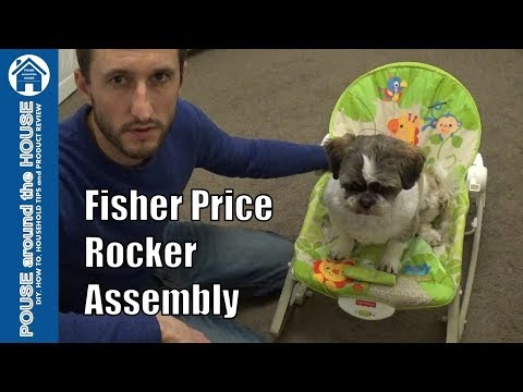 Fisher Price Infant To Toddler Rocker. How To Assemble, Review And Demo. Rainforest Rocker.