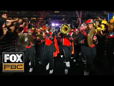 Errol Spence Jr. brings out marching band, rapper Yella Beezy for epic ring entrance | PBC ON FOX