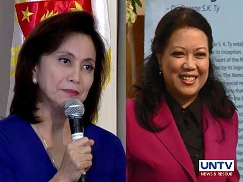 VP Leni Robredo, kumpyansang hindi matutulad kay dating Chief Justice Maria Lourdes Sereno