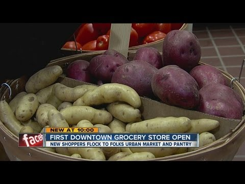 First downtown Tulsa grocery store open for business
