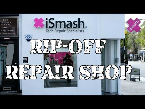 ISmash   Worst Mobile Phone Repairs In London UK   Watch Before You Try
