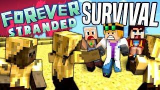 Minecraft - SURVIVAL - Forever Stranded #1
