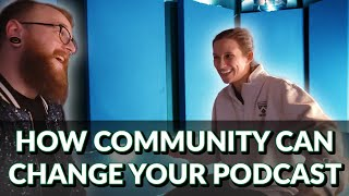 Using Community to Bring Your Podcast to Life with R.R. Noall of the Poems for People Podcast