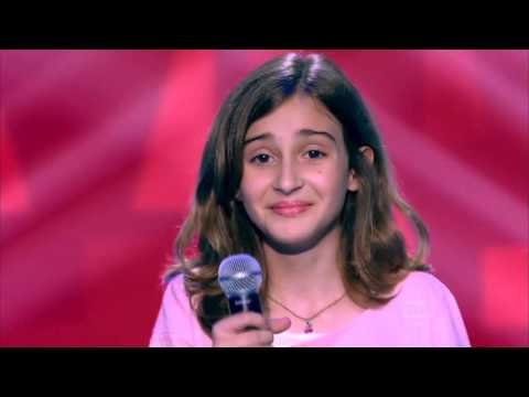 Luna Bandeira canta 'I'll Be  There' no The Voice Kids - Audições | Temporada 1