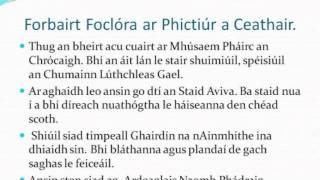 Sraith 3: Lá spraoi san Ardchathair