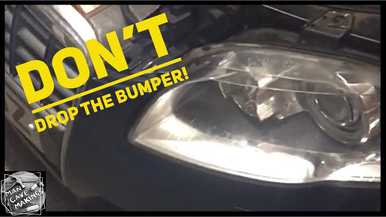 maxresdefault audi a4 b7 head lamp change out without dropping the bumper youtube