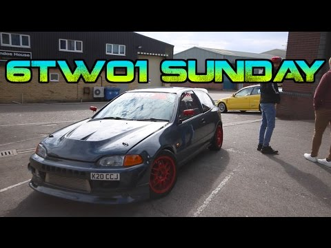 LIMITED EDITION HONDA CIVIC JORDAN GETS 6TWO1'D & Behind the Scenes!