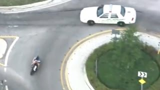 Miami Motorcycle Chase