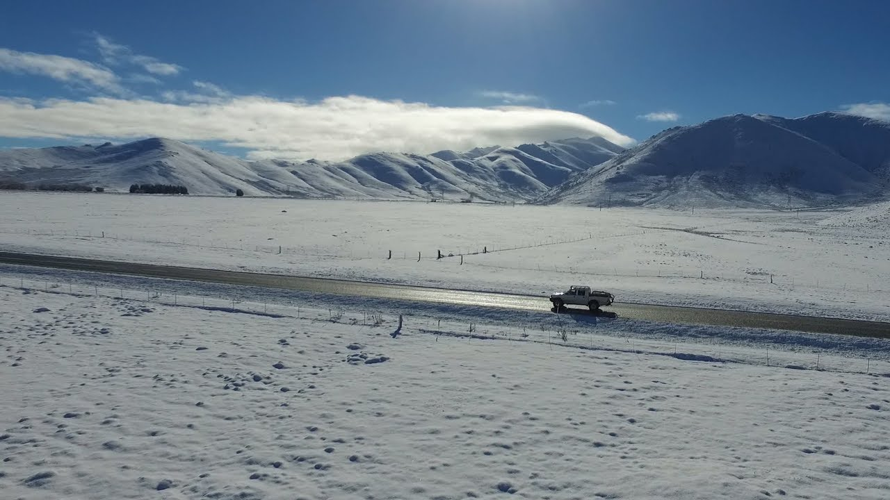JOURNEY THROUGH THE SNOW TO LAKE TEKAPO