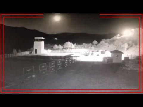 Meteor düşme anı - Türkiye (Farklı açılardan görüntüler)