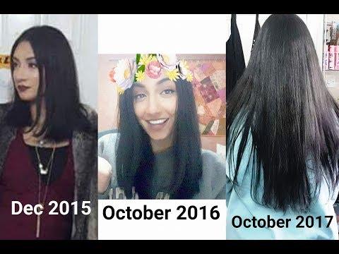 2 year 2015-2017 Hair Growth Journey in photos