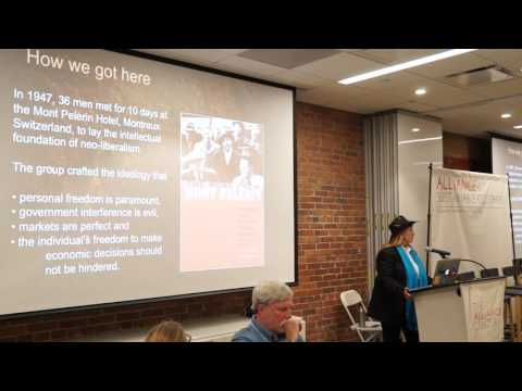 Economy in Service to Life: program launch at The Alliance Center