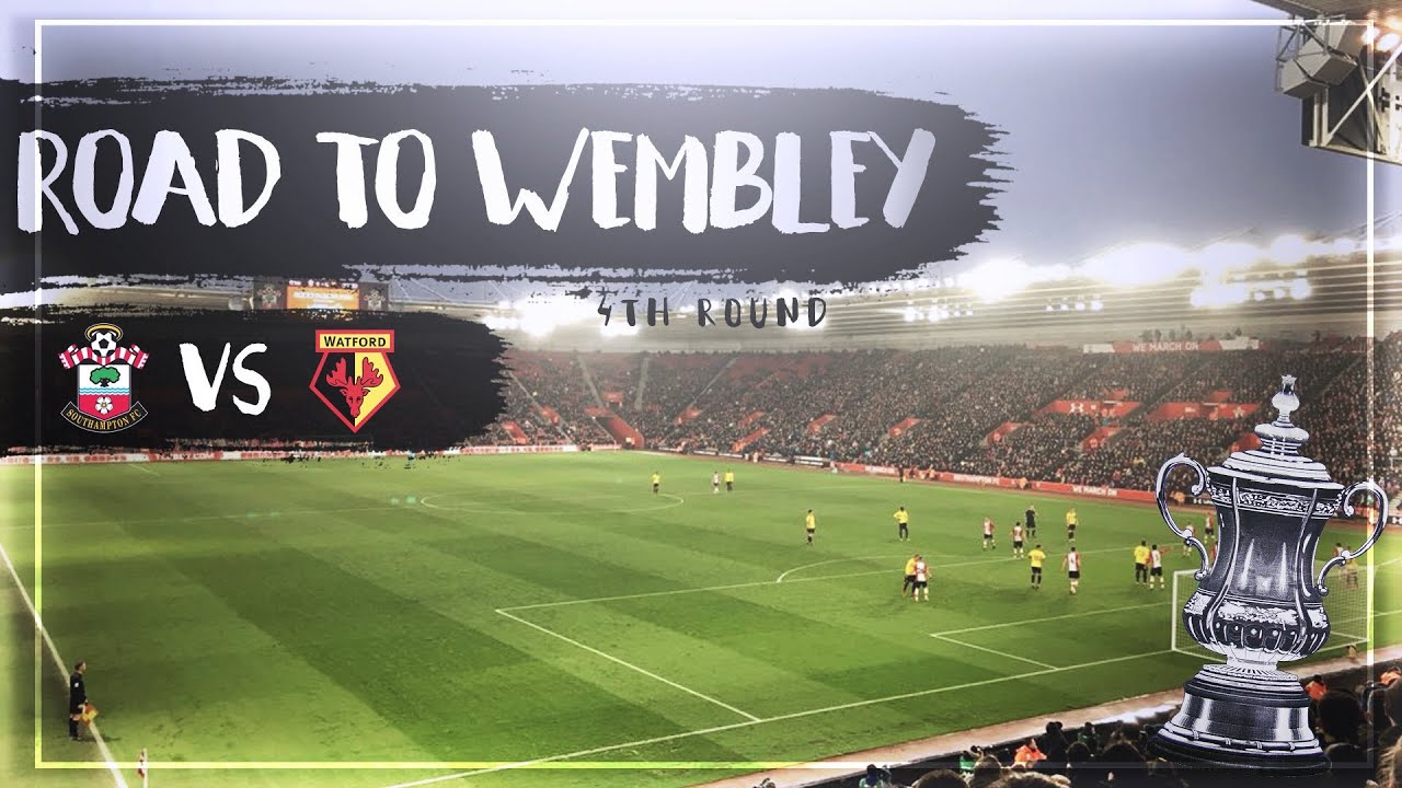 fa cup road to wembley fourth round southampton v. Black Bedroom Furniture Sets. Home Design Ideas