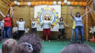 """Вожатский концерт, танец воспитателей, ДООЛ """"Голубая волна"""", II смена, Лето 2016"""