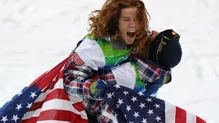 Repeat youtube video Shaun White half pipe Trick Collection! King of half-pipe Sochi Olympics!ショーンホワイト技動画