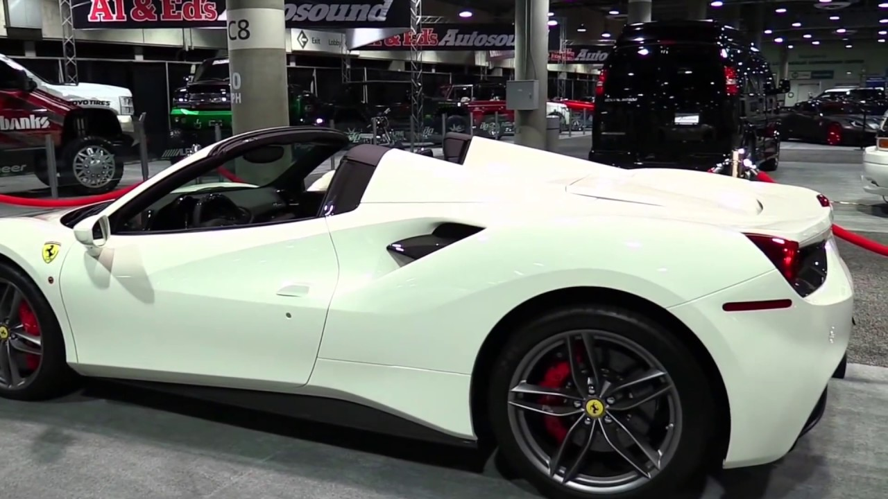 2018 ferrari interior. unique interior 2018 ferrari 488 spider limited edition features  exterior and interior  first impression and ferrari interior