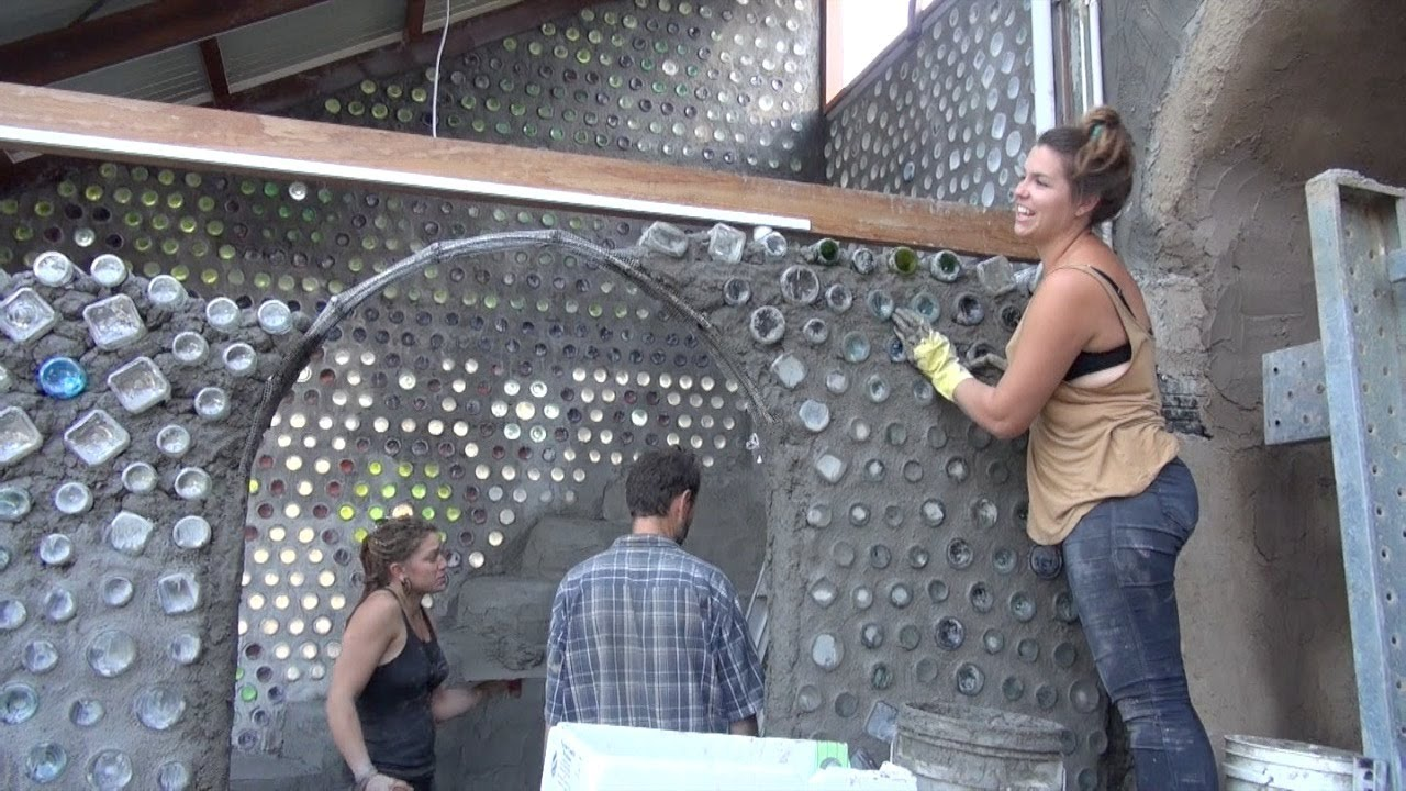 Australia's First Earthship - Part 2 - YouTube