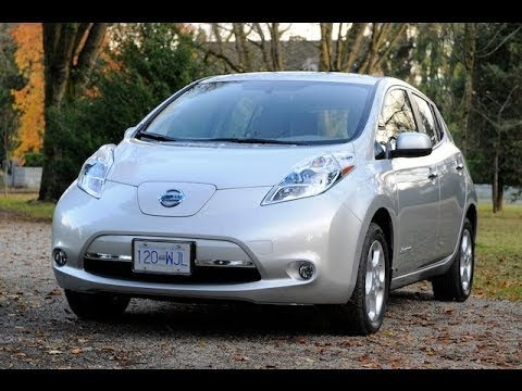 nissan leaf review youtube