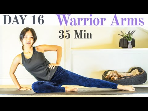 Day 16: Arms & Back Workout #withme | 28 Day #StayHome Pilates Challenge