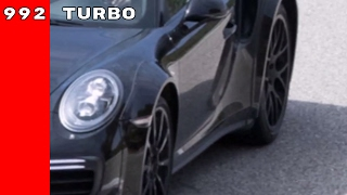 2019 Porsche 911-992 Turbo Spied