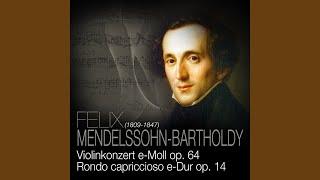 Rondo Capriccioso e-Dur, op. 14, Andante – Presto leggiero