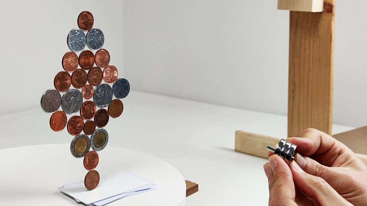 Coins in a magnetic field | Magnetic Games