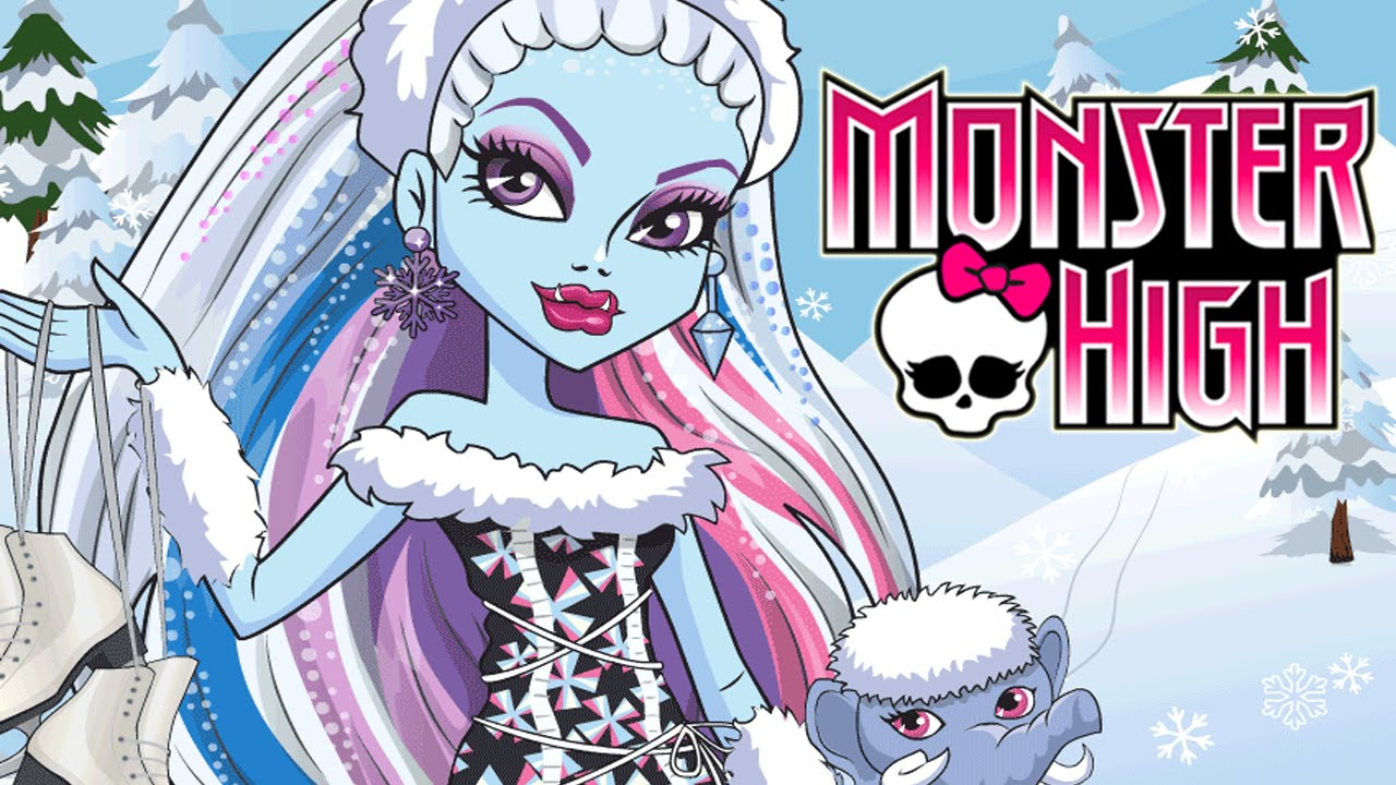 monster high full episode video game abbey bominable monster creation and christmas dress up