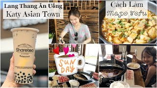 Cuối Tuần Lang Thang Katy Asian Town ♥ Làm Đậu Hủ Tứ Xuyên ♥ #HAUL  | mattalehang