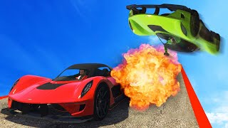 WORLDS MOST EXTREME TAKEDOWN! (GTA 5 Funny Moments)