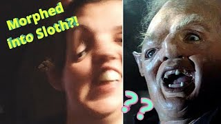 MORPHED INTO SLOTH FROM THE GOONIES //Funny Snapchat Filter Compilation\\