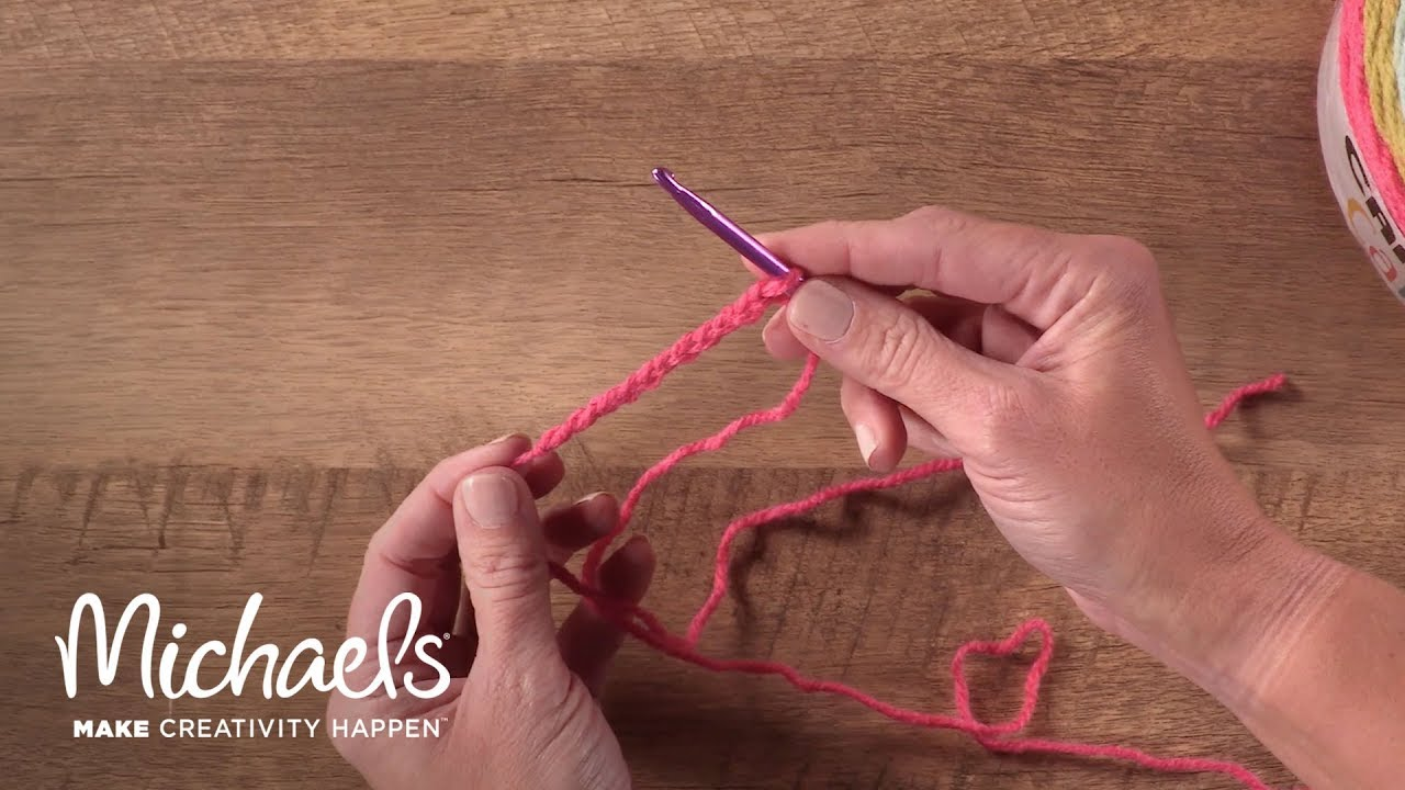 Michaels How To\'s: Crochet A Chain - YouTube