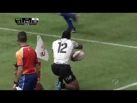 5 Cup Semi Final  Fiji vs South Africa   Vancouver Sevens 2018